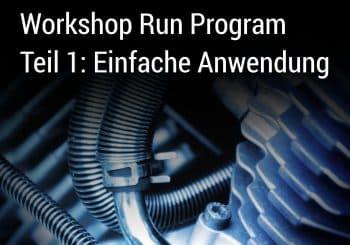 Das BICsuite Run Program Teil 1: Einführung und einfache Anwendung